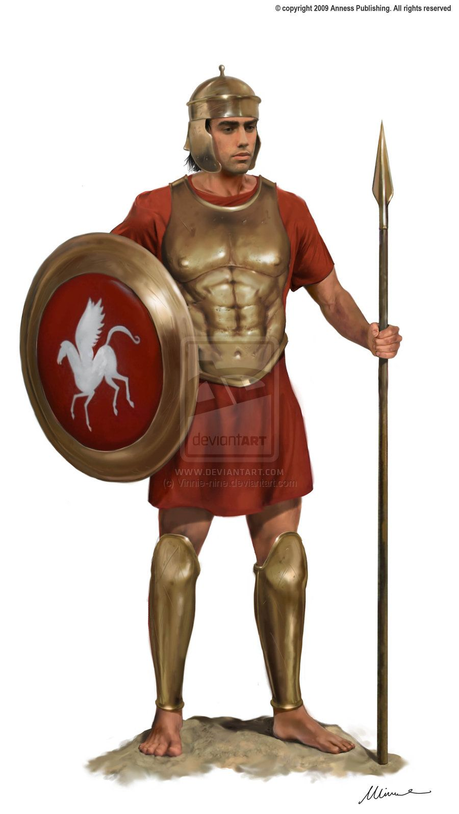 Roman Legionary Weapons, Armor and Clothing