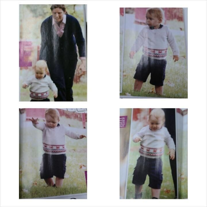 Joanne on Twitter: I bought the magazine today! Here are the photos of George! He melts my heart! http://t.co/FkmsruacDw