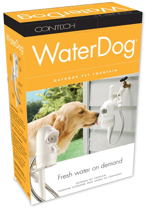 Water Dog Automatic Outdoor Pet Drinking Fountain