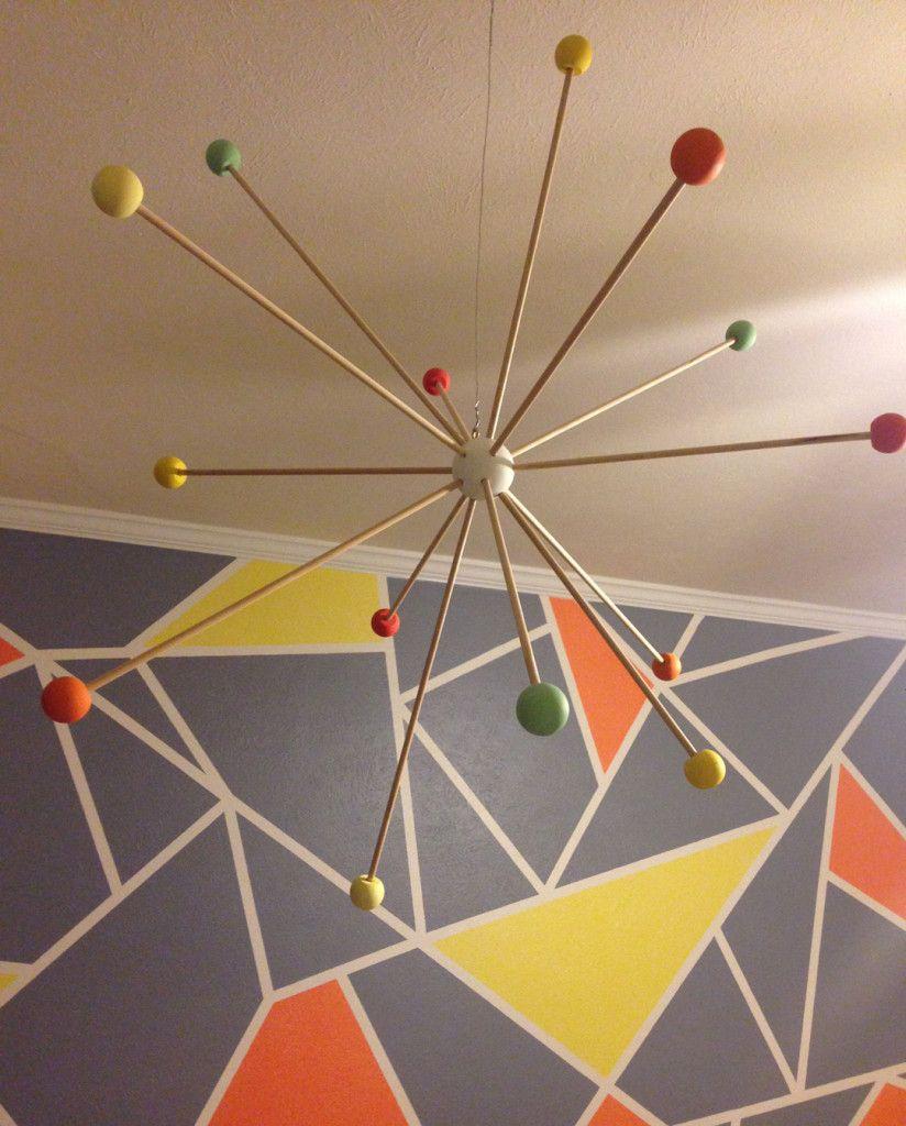 Margot's Modern Gray, Orange And Yellow Nursery
