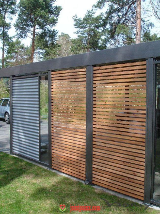 Pérgola Carport designs, Carport garage, Fence design