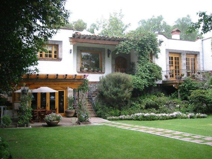 Casa mexicana estilo colonial cccccc pinterest casa for Fachadas de casas mexicanas rusticas