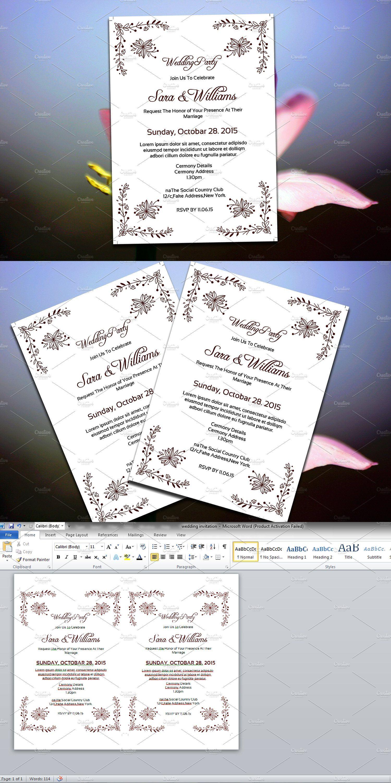 Wedding Invitation Card Template Wedding Invitation Card Template Wedding Invitation Size Wedding Invitation Cards