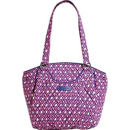 Vera Bradley Women's Glenna Katalina Pink Diamonds Tote