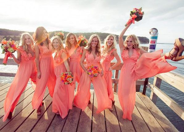 Bridesmaid Jumpsuits Are the Greatest Thing to Happen to Weddings #bridesmaidjumpsuits