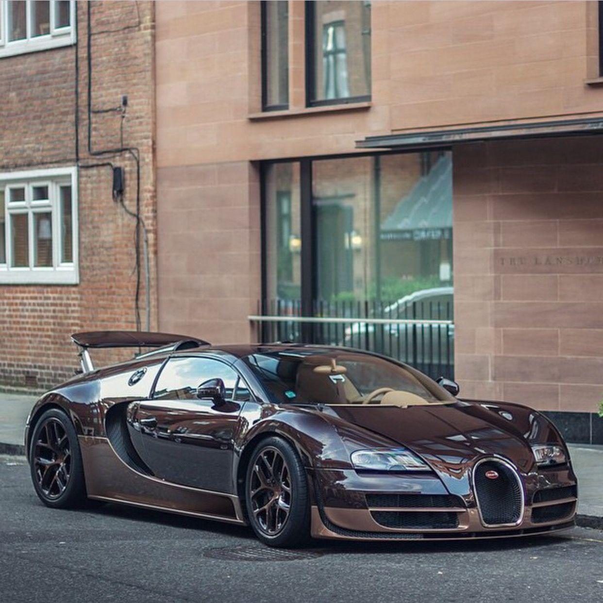 Bugatti Veyron Grand Sport Vitesse Rembrant Edition In Brown