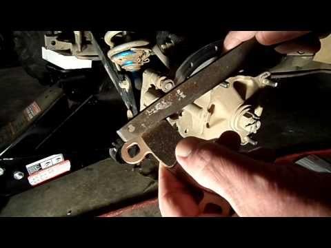 Polaris RZR Rear Brake Noise Remedy - YouTube | Polaris RZR