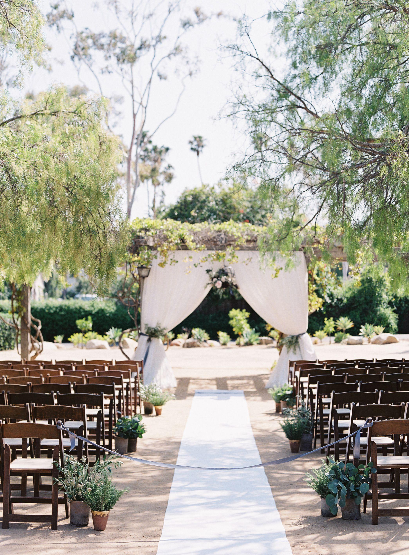 Wedding lawn decoration ideas  Rustic Glam Santa Barbara Wedding  Santa barbara Weddings and Wedding