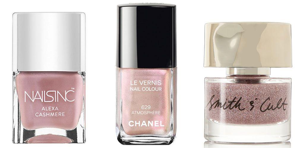 Nails Inc Alexa Cashmere Pink Nail Polish, $15; saksfifthavenue.com ...