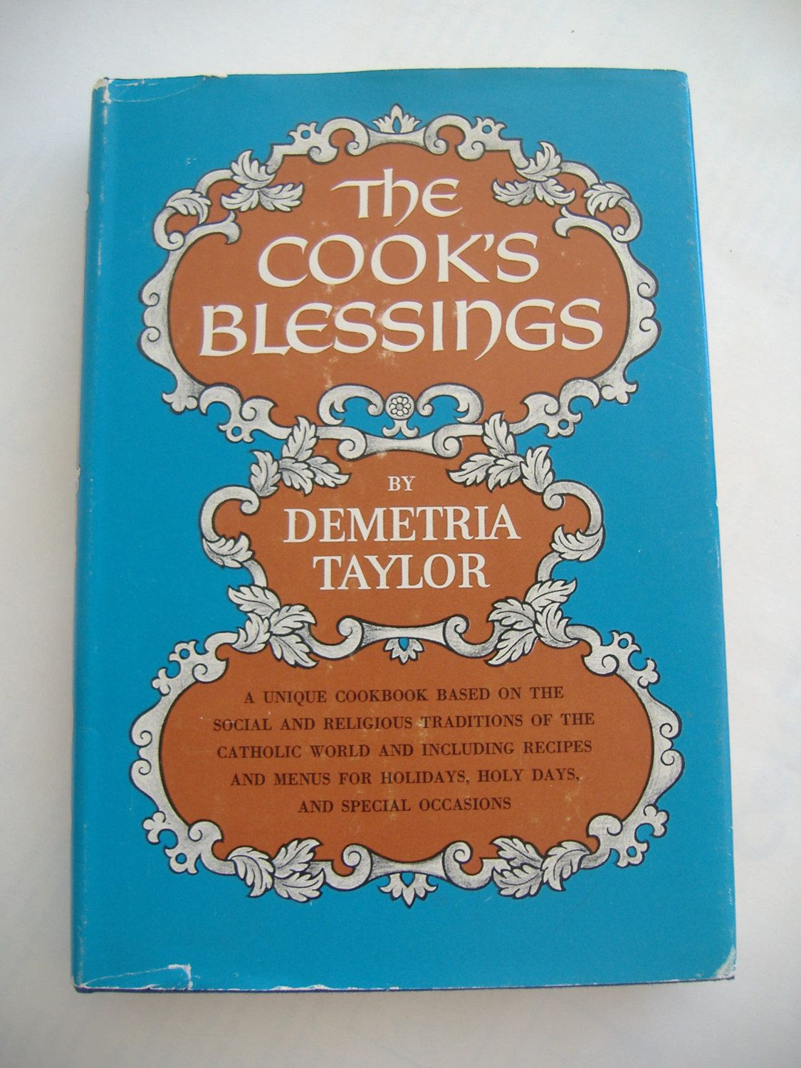 The Cook's Blessings, Hardcover with DJ, 1965, Cookbook, First Printing by RetroSpecial on Etsy https://www.etsy.com/listing/188282618/the-cooks-blessings-hardcover-with-dj