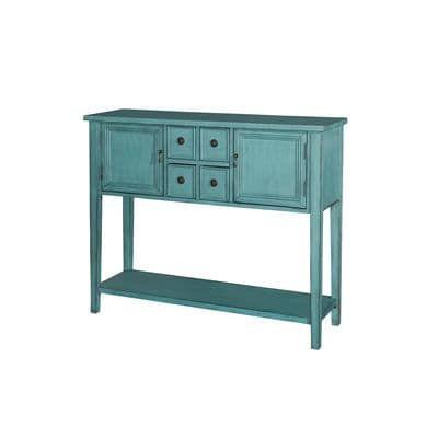Duplin Blue Console Table Antique Console Table Console Table