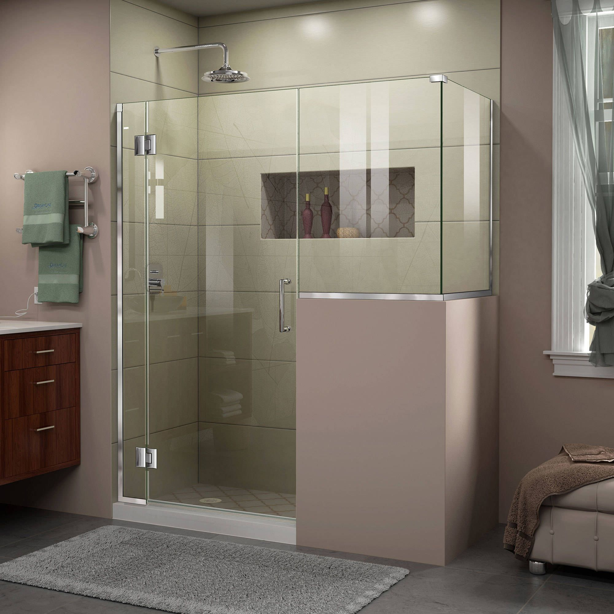 Dreamline Unidoor X 48 In W X 40 375 In D X 72 In H Hinged