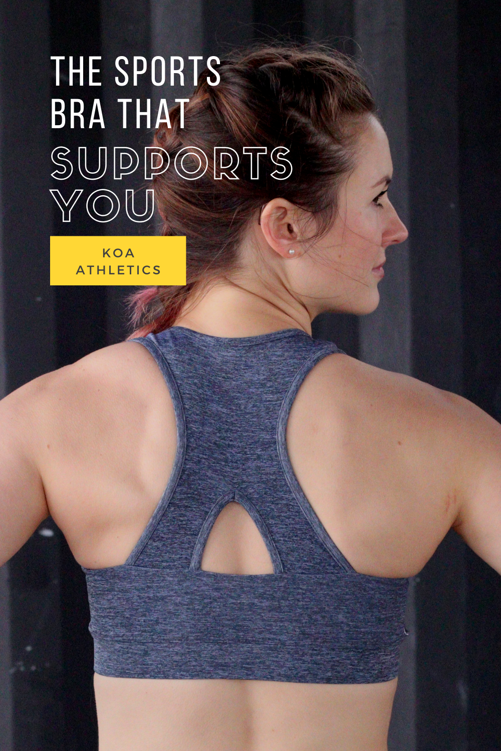 All American made. The perfect sports bra. Stays put, solid, and supportive. Padding that stays: no...