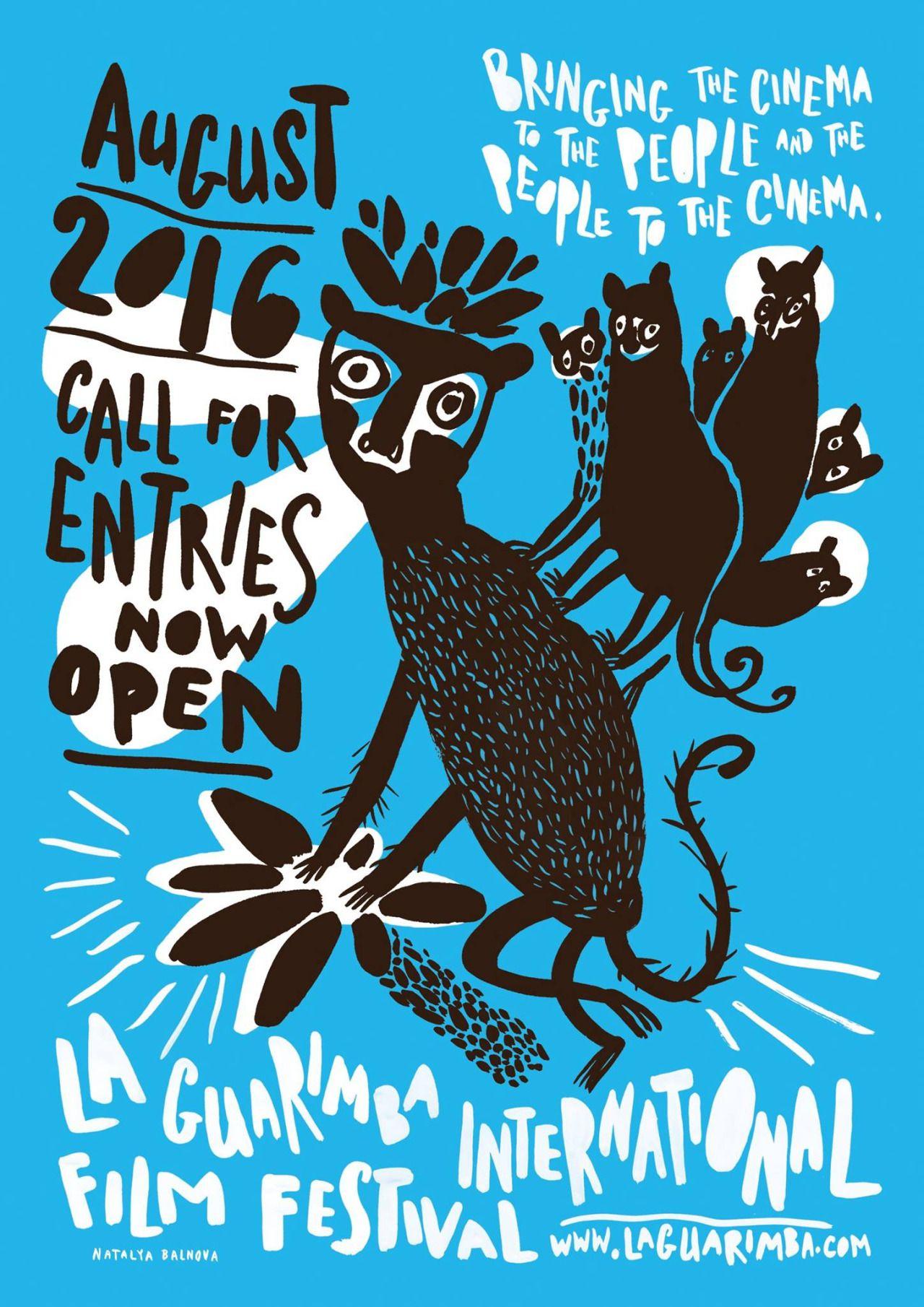 La Guarimba film festival / posters, Sara Fratini (curator), illustration…