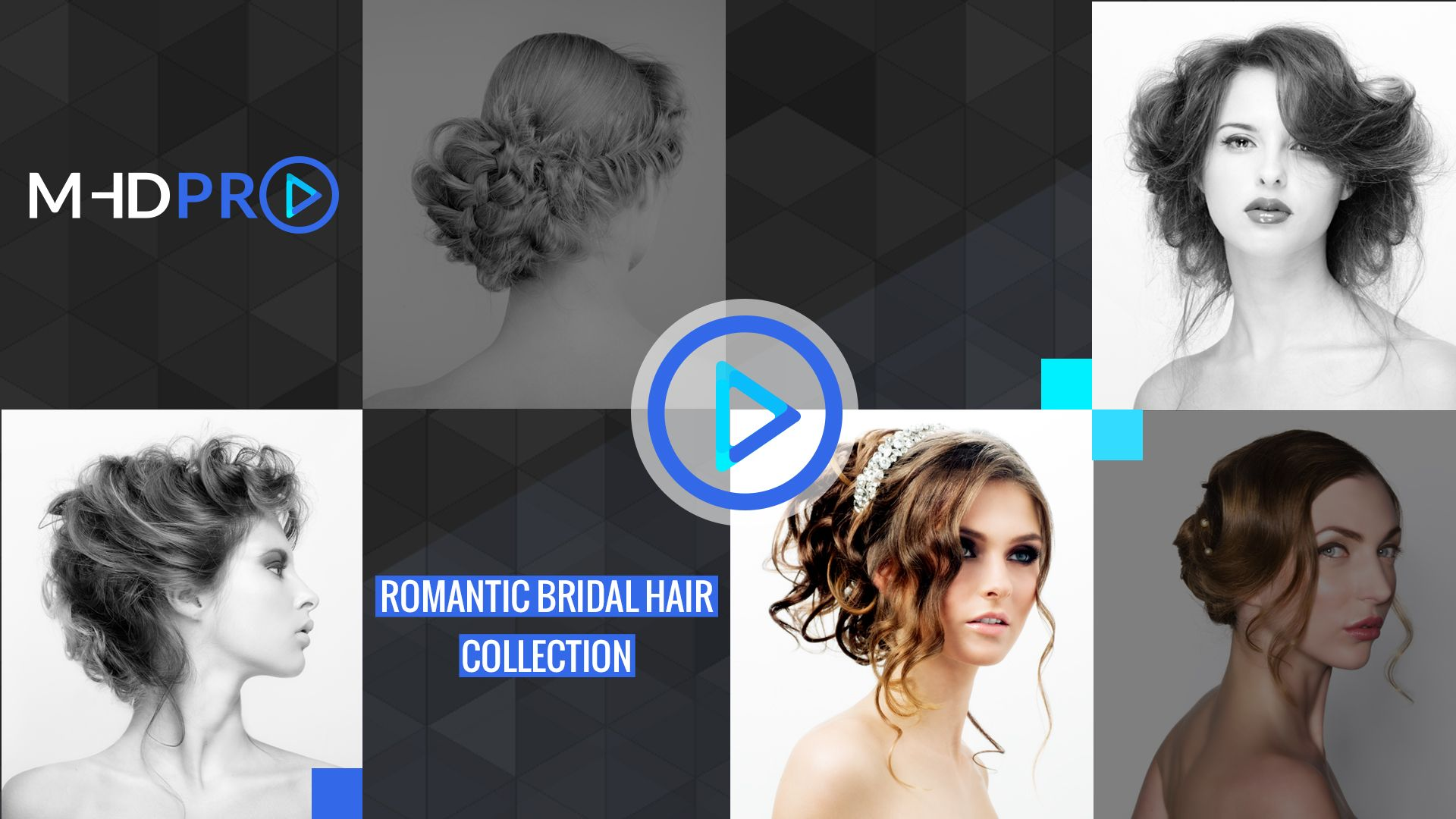 the romantic bridal hair online course from mhdpro | dressing