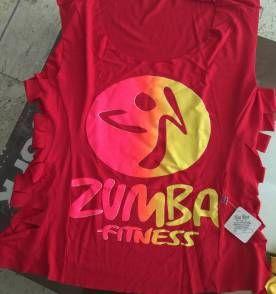 Camiseta Zumba academia