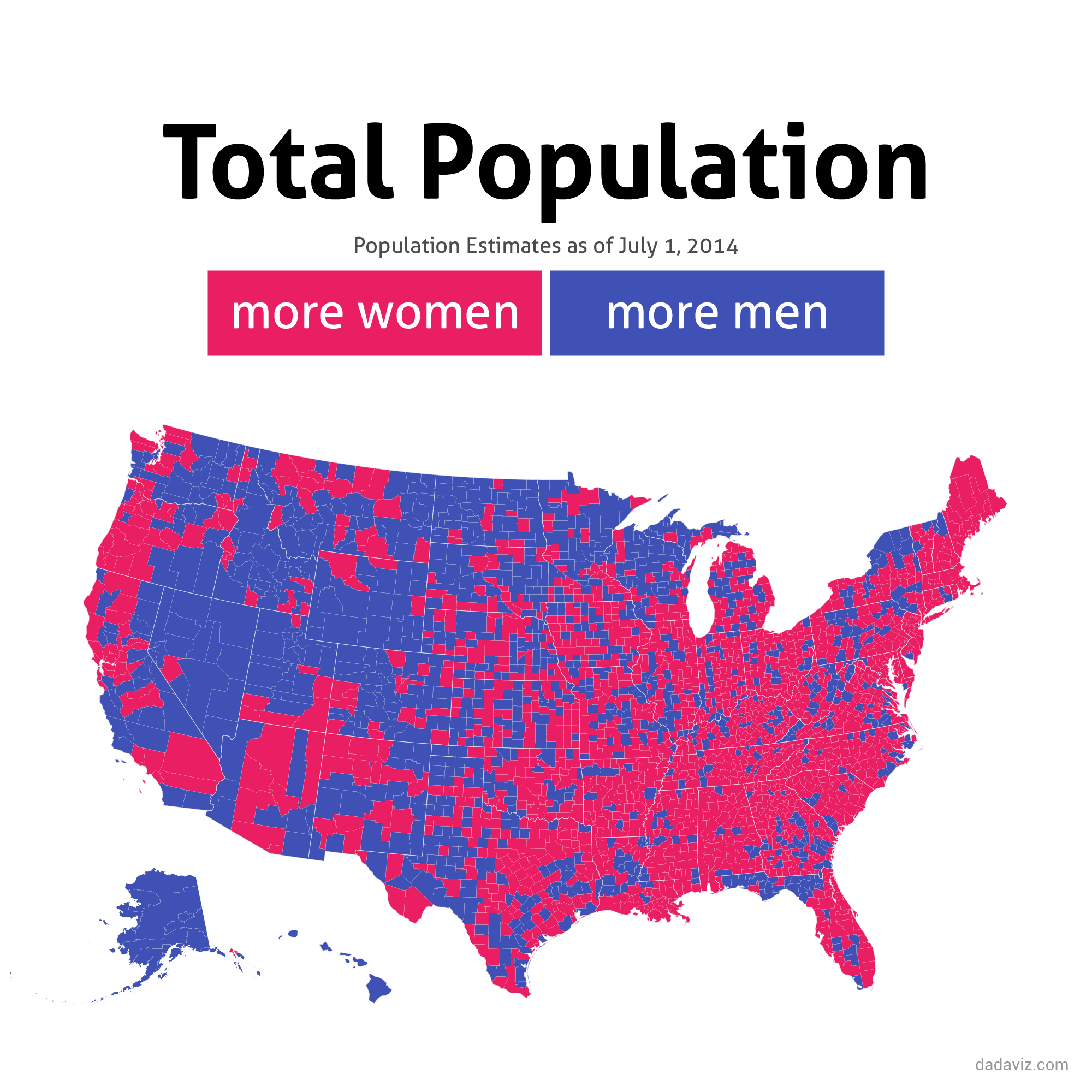 Fascinating Maps Show Where And Why Men Die Early And Women - Show map of united states