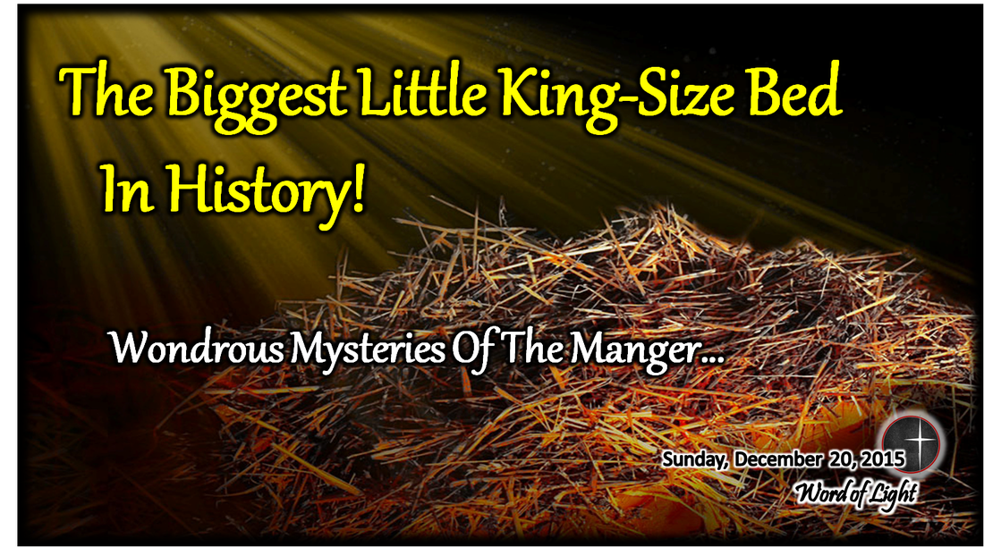 The Biggest Little KingSize Bed in History a sermon