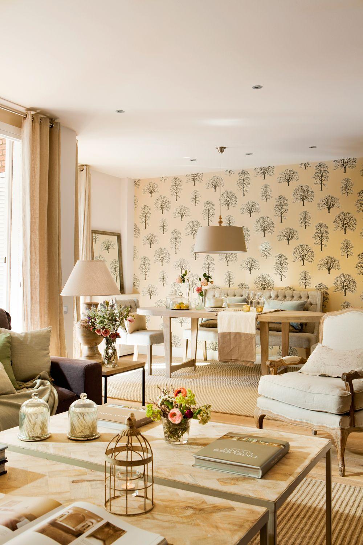 Texturas otoñales | Salones | Como decorar un comedor ...
