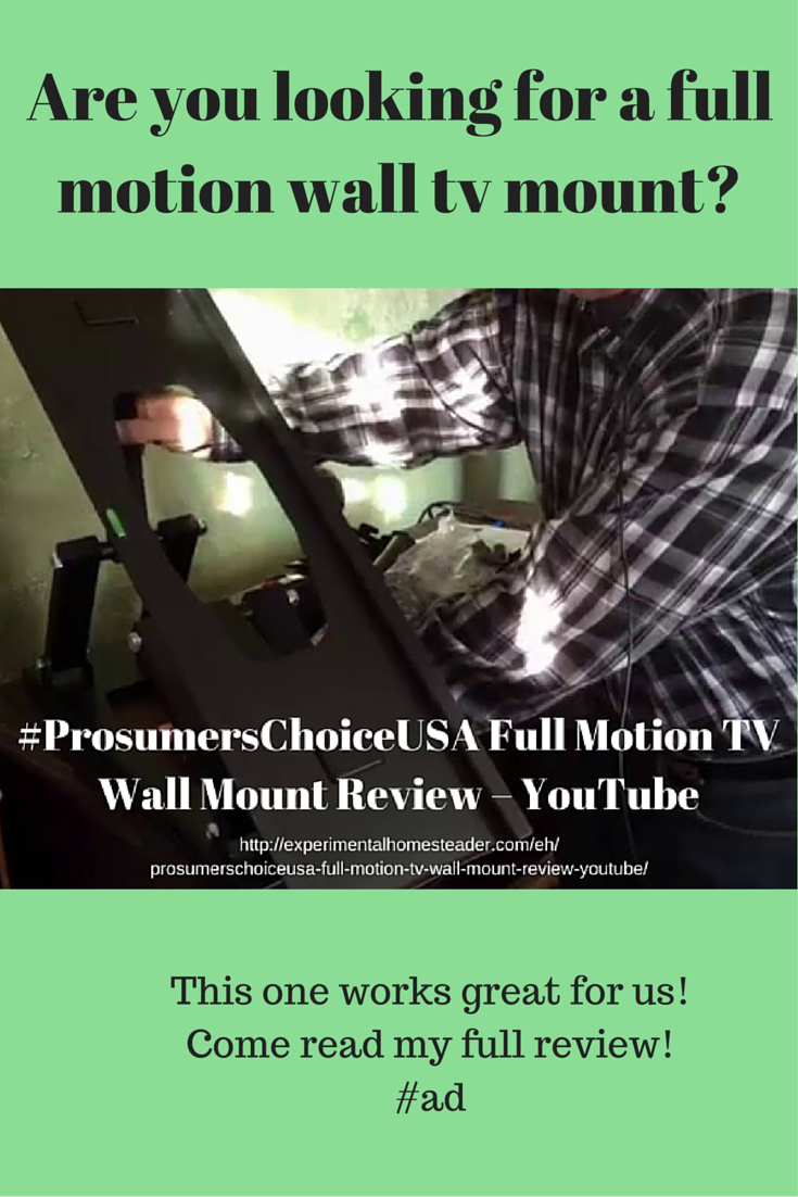 ProsumersChoiceUSA Full Motion TV Wall Mount Review – YouTube #ad ...