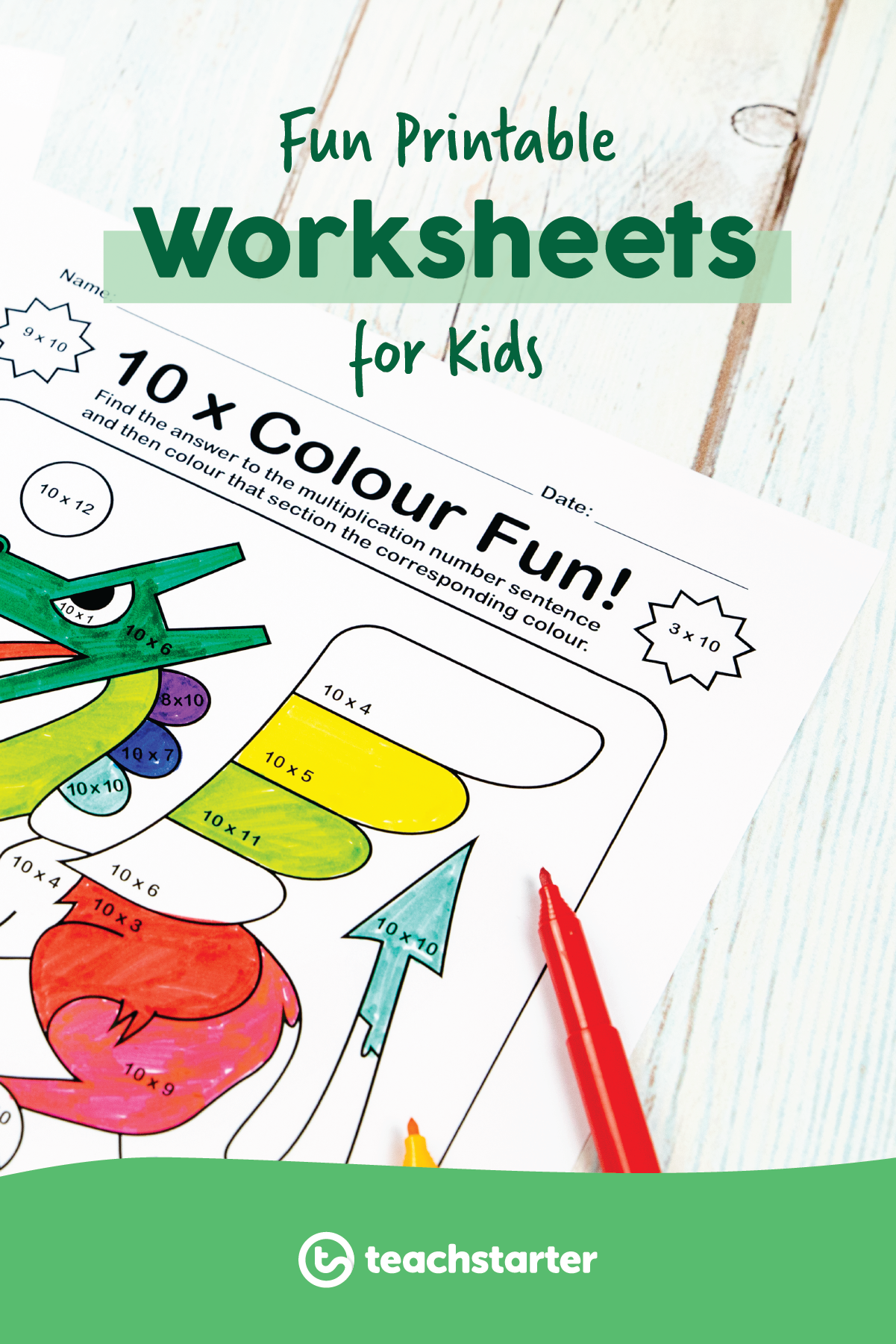 Fun Printable Worksheets For Kids New And Exciting