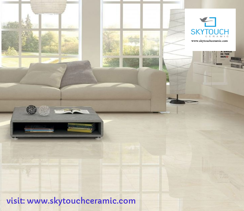 Skytouchceramic Manufacturer Of Ceramic Tiles Gvt Tiles Pgvt Tiles Vitrified Ti Living Room Tiles Polished Porcelain Tiles Porcelain Tile Floor Living Room