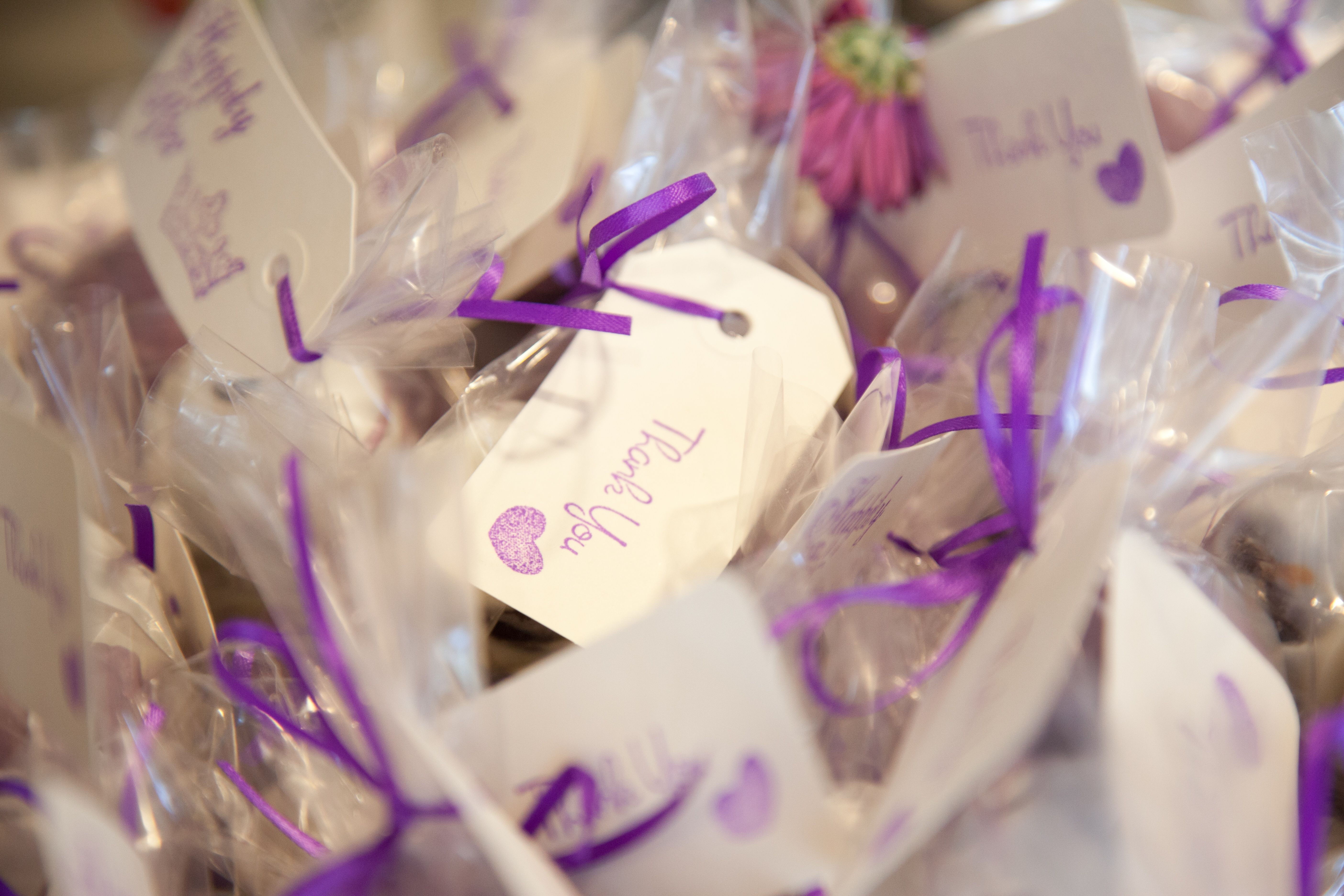 Thank you favors for Fairy Tale bridal shower