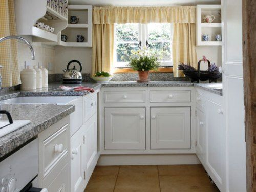 Small White Kitchens Pictures | Photos Of The Small White Traditional Kitchen  Ideas Part 47