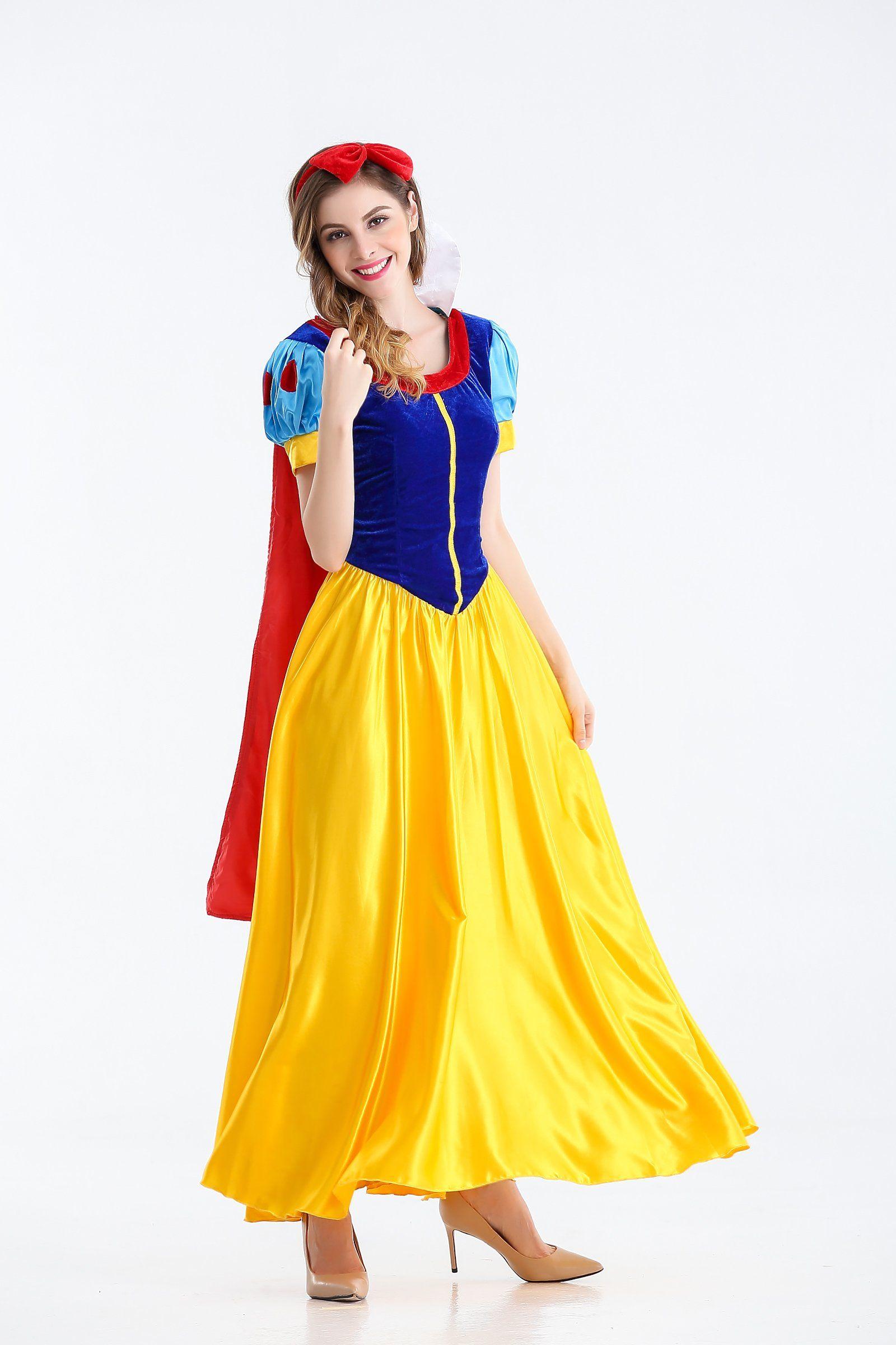 numandliky Ladies Snow White Princess Fairytale Film
