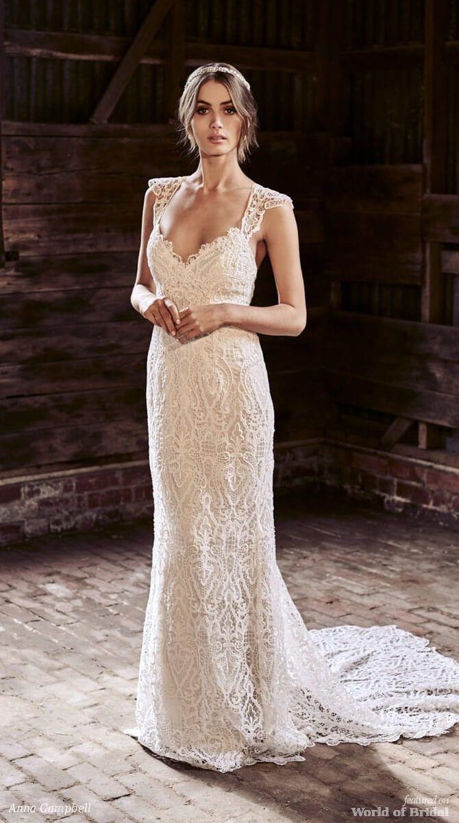 Back detail wedding dress  Anna Campbell  Wedding Dresses