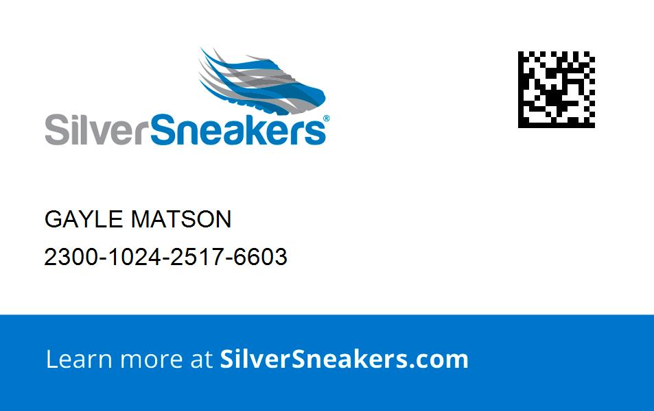 Your SilverSneakers Membership Card in