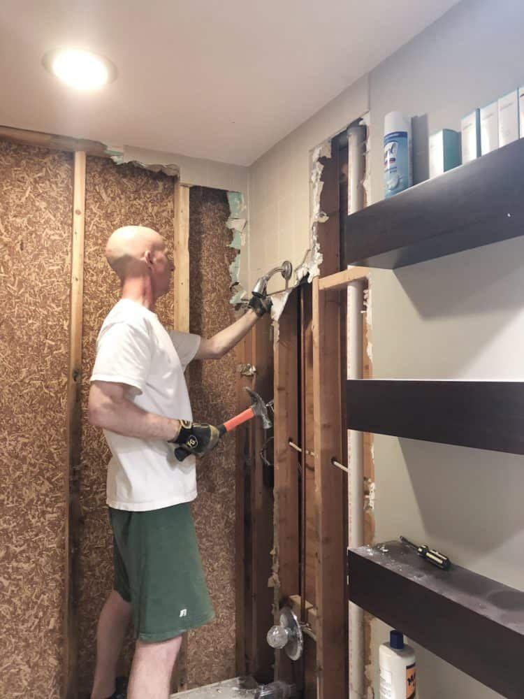 How To Install Bathroom Wall Tiles Bathroom Remodel Cost Diy Bathroom Remodel Bathroom Wall