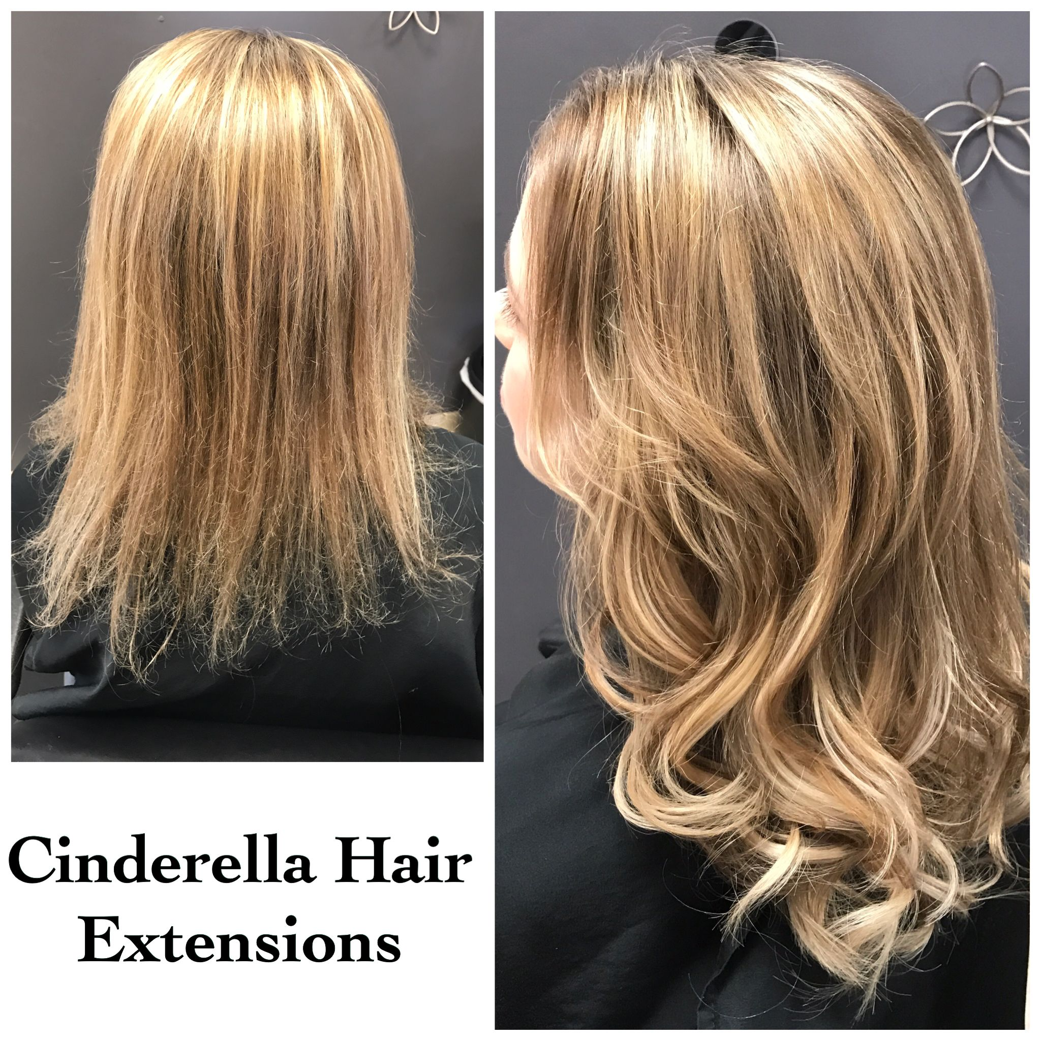 Pin By West 13th Salon On Cinderella Hair Extensions Pinterest