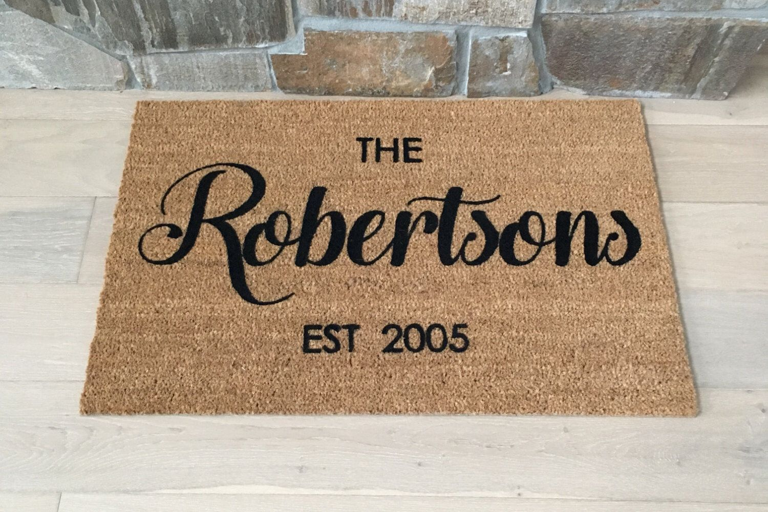 custom doors outside doormat monogram melbourne home mats made for front cool inspirations mat welcome door monogrammed