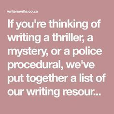 008 50 Fabulous Resources For Crime Writers Branding for