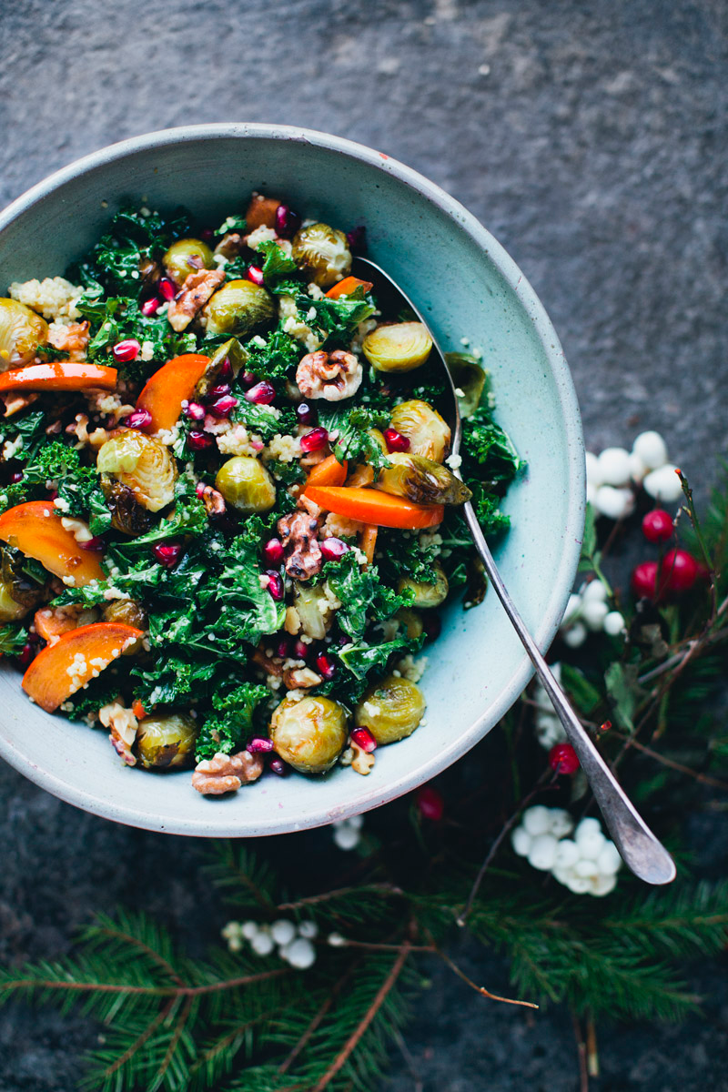 Green Christmas 2015 — Green Kitchen Stories #saladeautomne