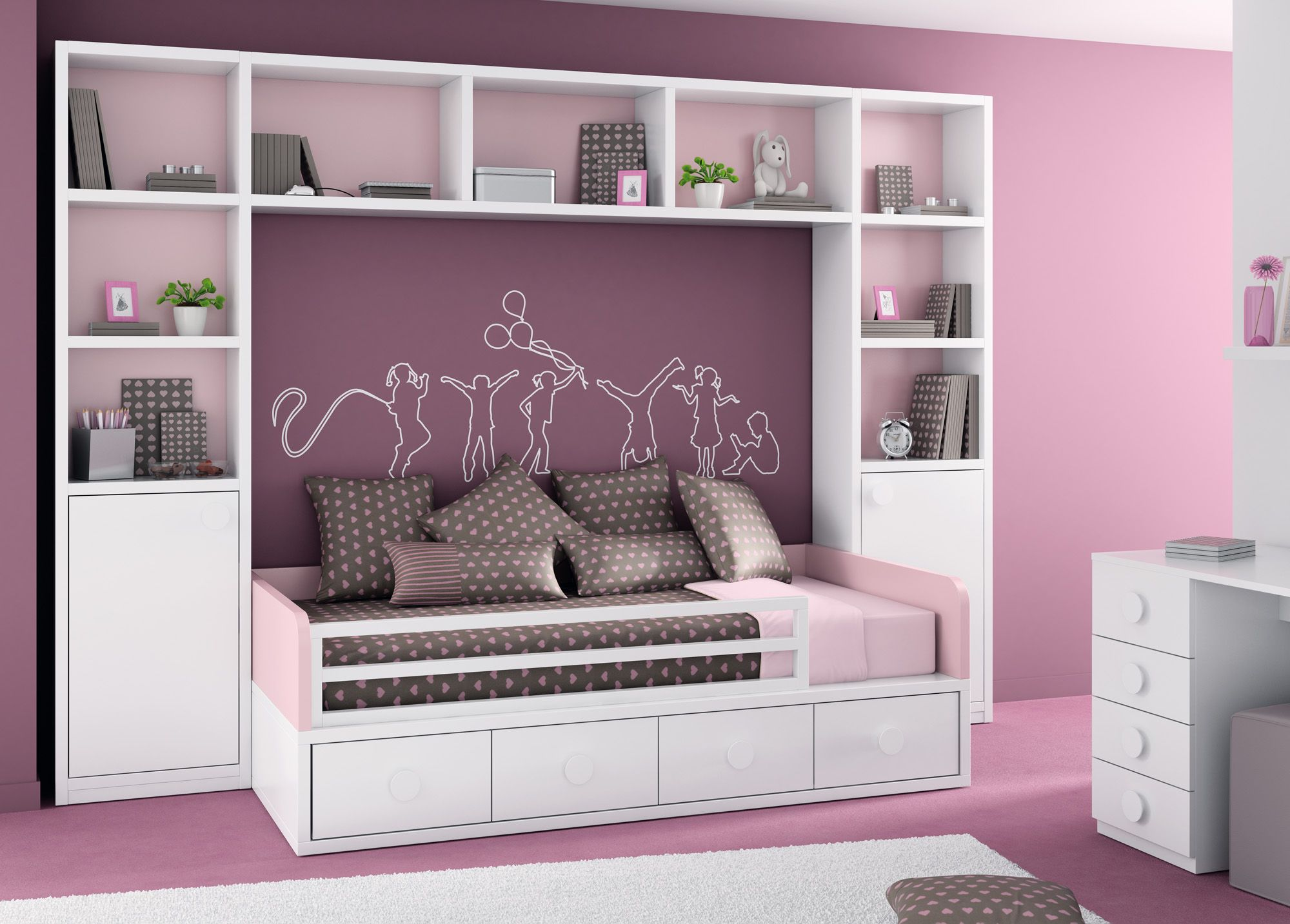 Loft bed curtain ideas  undefined  interiordesign  Pinterest  Bedrooms Room and Kids rooms