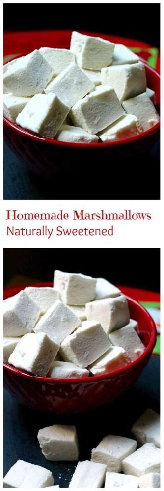 Homemade Healthier Marshmallows #healthymarshmallows Healthier Homemade Marshmallows • The Healthy Toast #healthymarshmallows