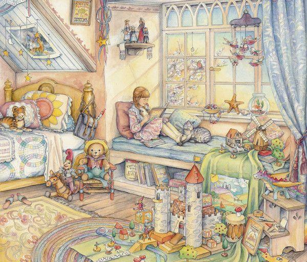 superbes illustrations Kim Jacobs