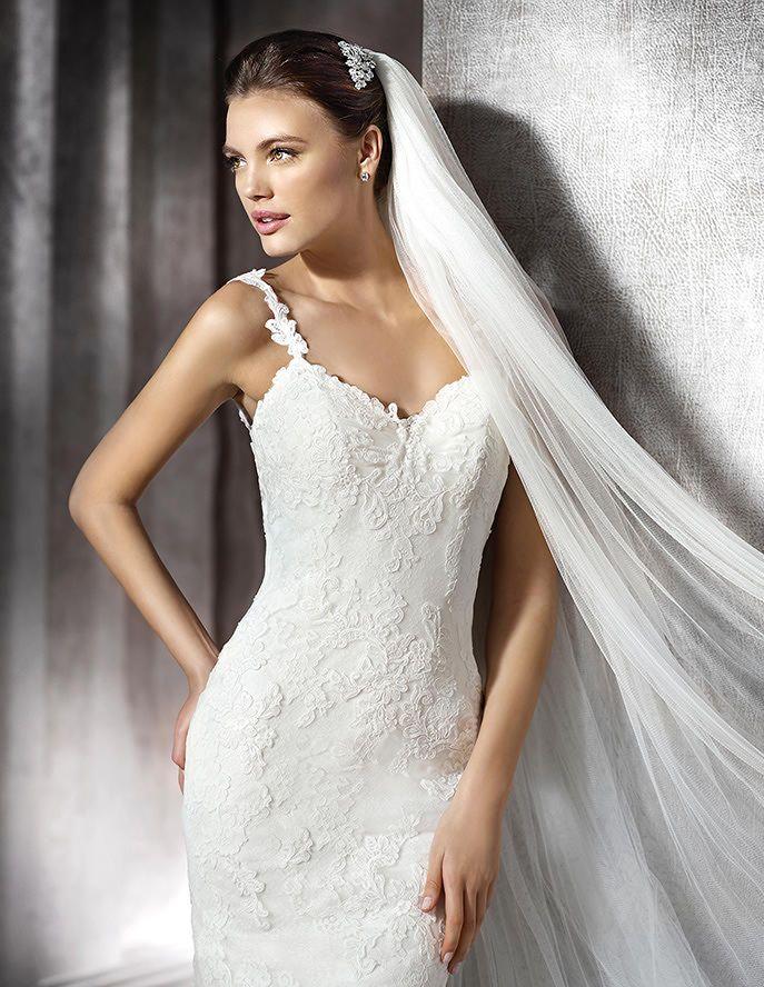 zamira, wedding dress #rosaygris | st patrick - bridal 2016