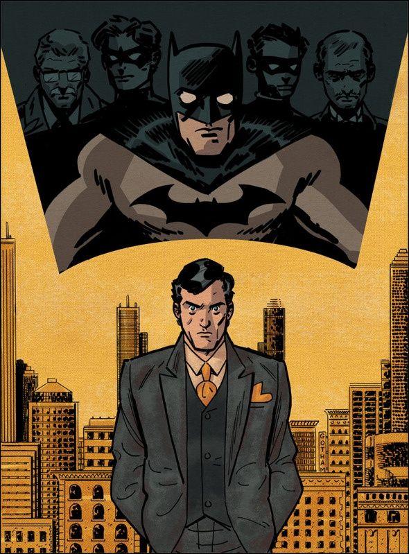 "Batman by Evan ""Doc,"" Shaner"