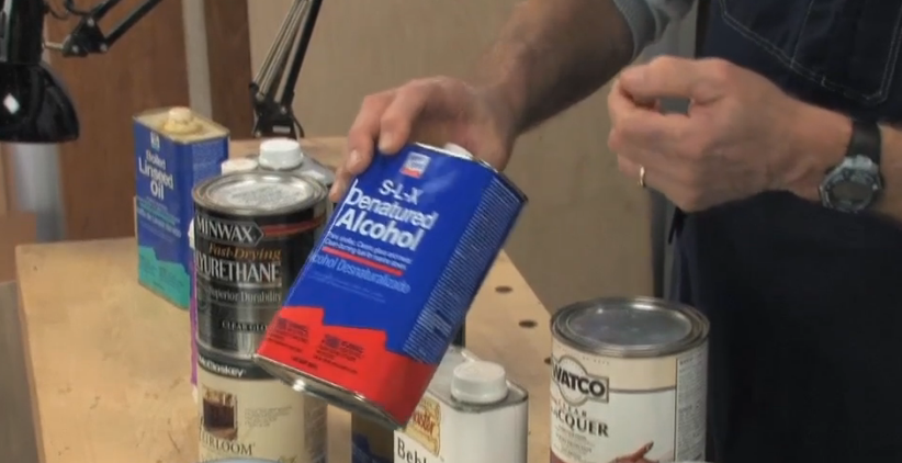 Wood Finishing Tips Alcohol Bilder Hering