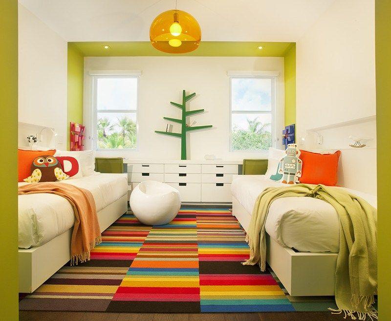 Babyzimmer ideen grün  Jugendzimmer in Grün und Weiß einrichten | Kinderzimmer ...