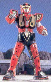 Mighty Morphin Power Rangers Zords: Red Dragon Thunderzord Warrior Mode