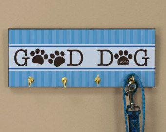 Good dog leash hook holder
