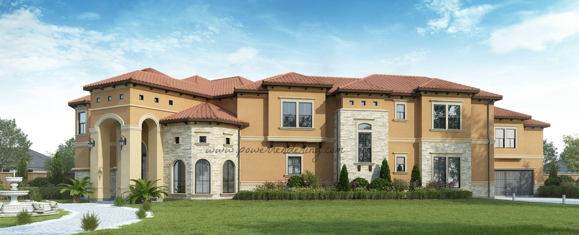 3D External Residential Render