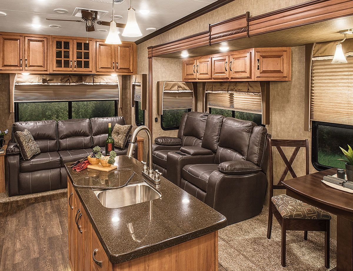 23 gorgeous rv living decoration for a cozy camping ideas