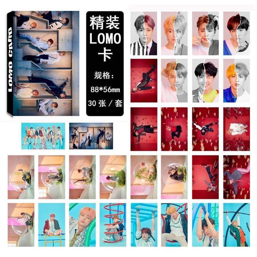 Kpop BTS Love Yourself 结 Answer Lomo Photo Card Jimin V HD