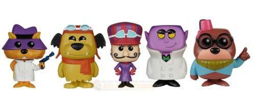 Hanna-Barbera Lil/' Gruesome Dick Dastardly /& Morocco Mole Funko Pop Set of 3
