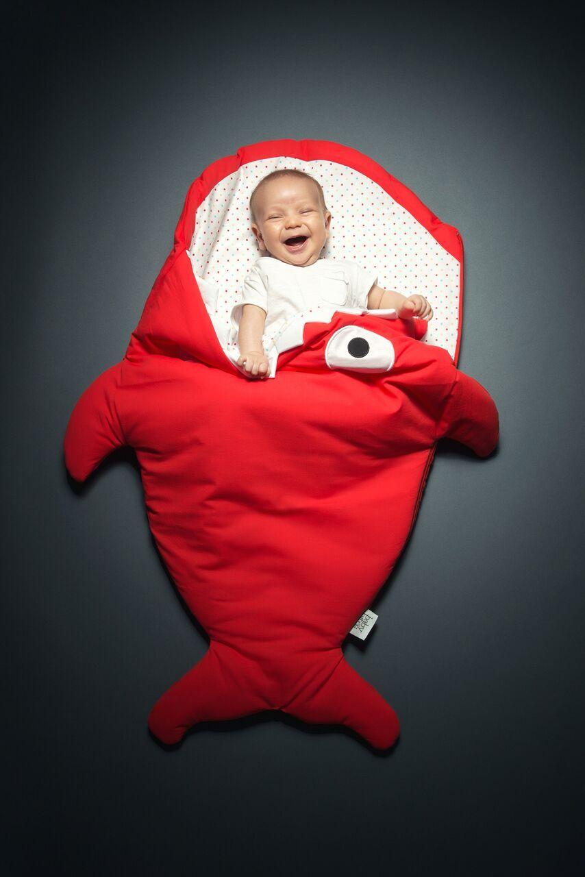Baby Bites - Saco Rojo Sac De Couchage Requin, Couture Pour Bébé, Couture  Enfant 83fbbe7136f